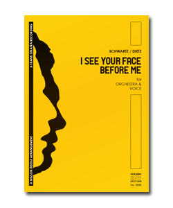 I SEE YOUR FACE BEFORE ME (ORCH+VOX)