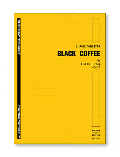 BLACK COFFEE (ORCH+VOX)