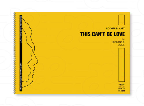 THIS CAN'T BE LOVE (BB+VOX)