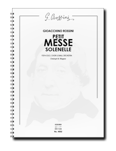 G. Rossini, PETITE MESSE SOLENELLE (ORCH+CHOIR)